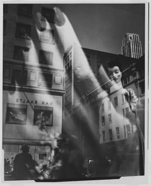 Reflection, New York, 1939-1945Model had an eye for the peculiarities of everyday urban life, along with an experimental bent that seems to underscore her coming of age in the modernist cultural landscape of pre-war Europe.