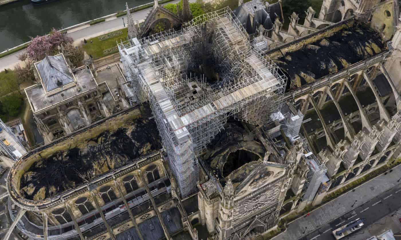 Scientists begin hunt for evidence on cause of Notre Dame fire