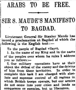 Manchester Guardian 19 March 1917.
