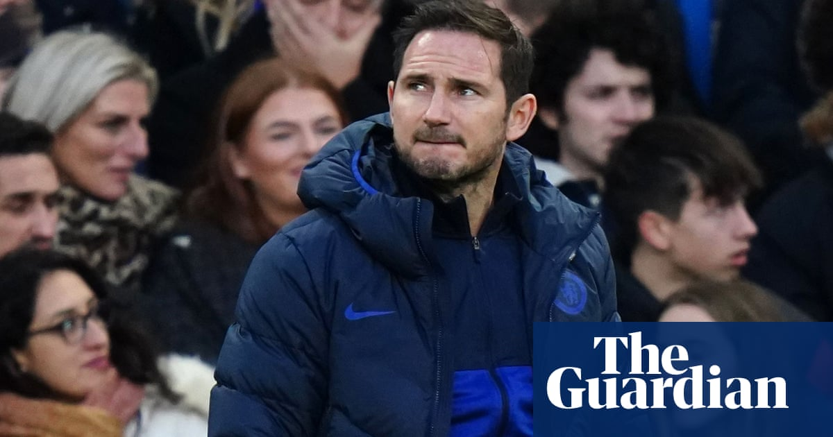 Chelsea's Frank Lampard frustrated by 'same story' in loss to Southampton