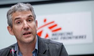Jérôme Oberreit, MSF's international secretary general.
