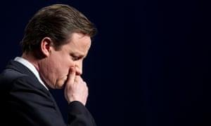 David Cameron speaking in Brighton in 2010
