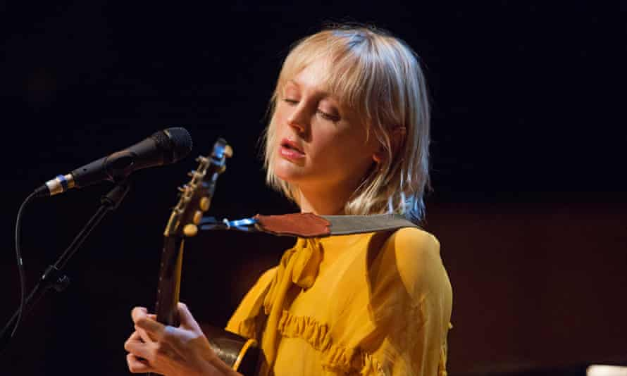 Spine-tingling … Laura Marling at Celtic Connections with BBC Scottish Symphony Orchestra.