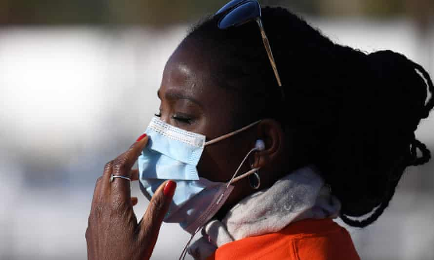 Officials at the CDC are reviewing their recommendations about the widespread use of masks.