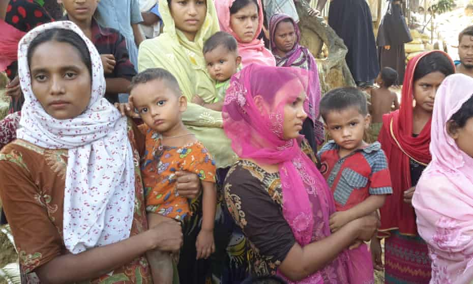 Hindu refugees who fled violence in Myanmar are seen in neighbouring Bangladesh. Their version of events changed after a military operation led to their return to Myanmar.