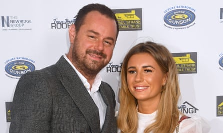 Double trouble ... podcasters Danny Dyer and Dani Dyer.
