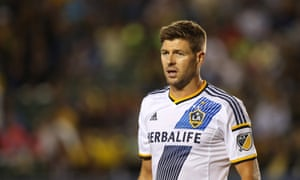 Steven Gerrard has scored five goals for the LA Galaxy.