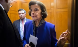 Dianne Feinstein will be one of four female senators to question Ford and Kavanaugh.