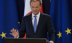 Donald Tusk, president of the European Council, in Malta last week.