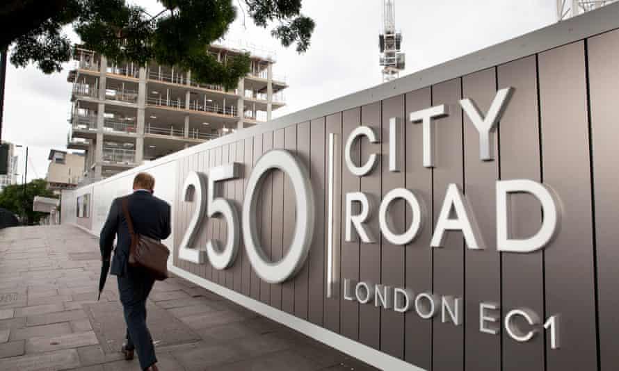 One of Berkeley Group's developments in London.