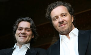 Making musical links … Gerold Huber, left, and Christian Gerhaher.