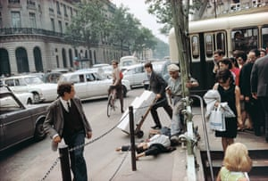 'Not one of them helps' … Paris, France, 1967, from the new book Where I Find Myself.