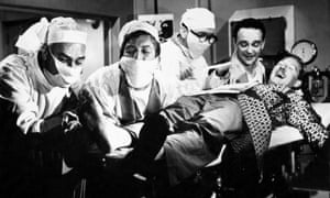 Doctor, doctor … the 1959 film Carry On Nurse.