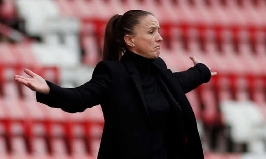 Manchester United manager Casey Stoney admits falling short of European qualification would feel like a failure.