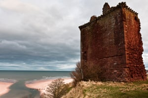 A view of the Red Castle at Lunan