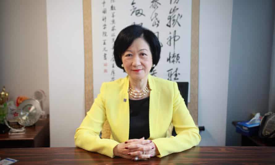 Regina Ip, a Hong Kong legislator and chair of the New People's Party