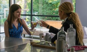 Never funnier … Anna Kendrick, left, and Blake Lively in A Simple Favour