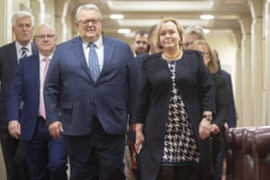 National party leader Judith Collins (right) with deputy leader Gerry Brownlee (left).