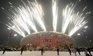 The Olympic opening ceremony in Beijing. The IOC retested 454 samples from Beijing, using new anti-doping techniques that were not available at the 2008 Games.