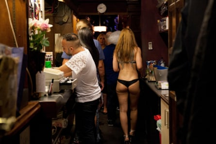 Behind the scenes at the White Horse on closing night, Saturday 30 July 2016.