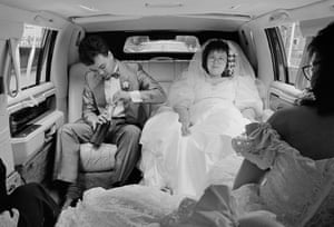 Champagne Wedding, Queens, 1989 by Kathy Shorr