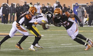 Burfict was called for a penalty for his hit on Antonio Brown during the Bengals' loss to the Steelers.