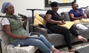 Danielle, Sharonda,and Michel for their weekly podcast covering a variety of topics discussed between us girls over wine - Between us girls podcast