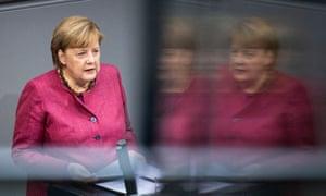 Angela Merkel announces Germany's second lockdown in the Bundestag