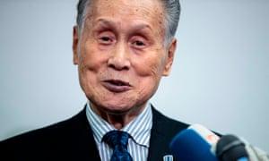 Tokyo 2020 president Yoshiro Mori.