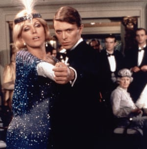 David Bowie and Kim Nowak in Just a Gigolo.