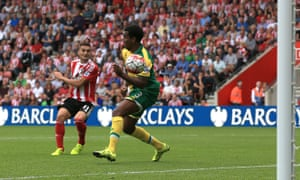 Tadic curls home to put Saints in control.