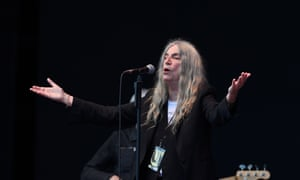 Patti Smith performs at All Points East.