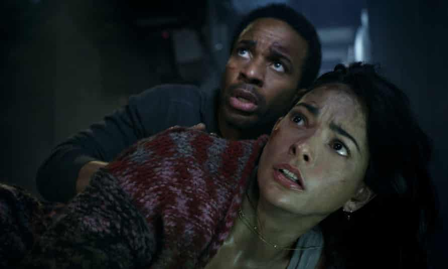 Andre Holland and Natalie Martinez in Battle at Big Rock.