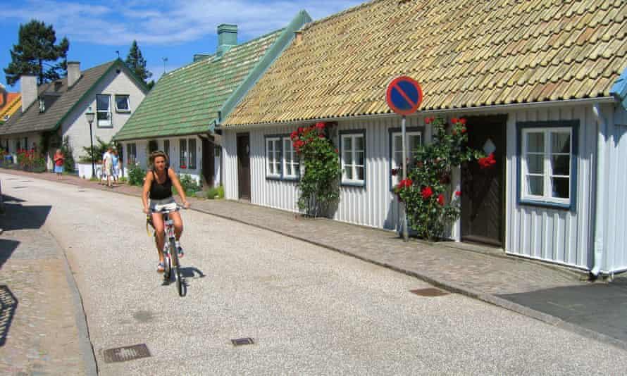 Cycling in Båstad