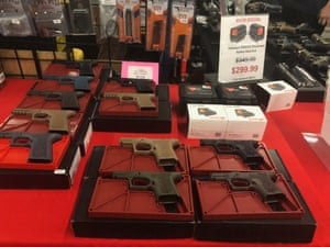 California law does not allow people to leave a gun show with a fully functional firearm.