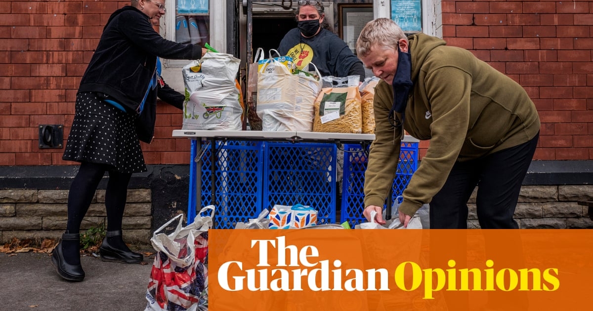 Millions of destitute Britons rely on charity handouts, yet ministers feel no shame