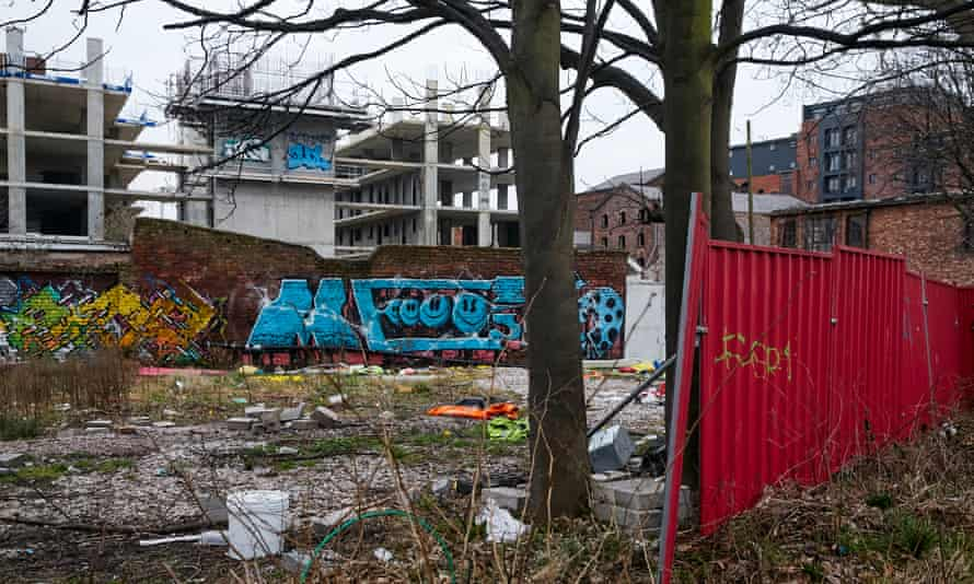 The Baltic House site last week