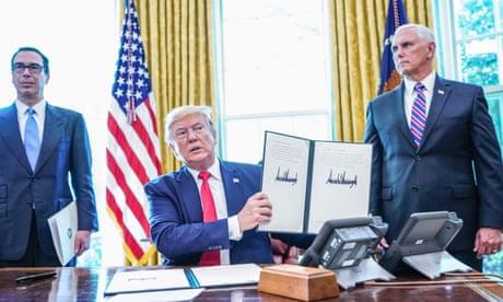 Iran: Trump announces new, 'hard-hitting' sanctions – as it happened