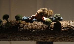 Alice Privett as Goldilocks in Goldilocks and the Three Little Pigs.