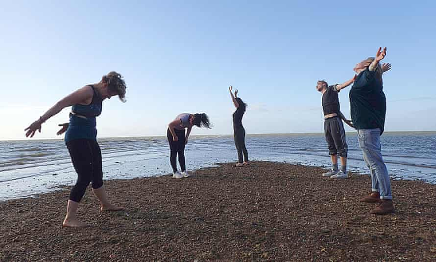 Zoe Czavda Redo, Tuuli Malla and Xavier Velastin in the project Water Bodies, for the 2018 Whitstable Biennale.