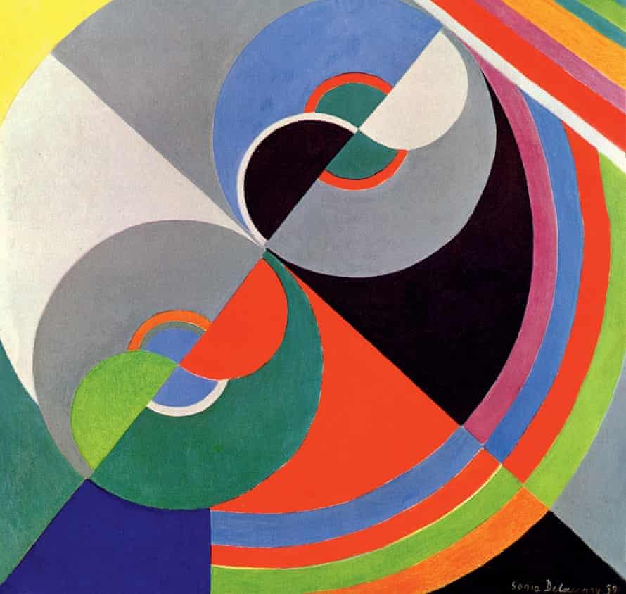 Rhythm Colour No 1076 (1939), Sonia Delaunay.