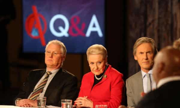ABC's flagship Q&A program. Julia Gillard says the Coalition's 'bullying' of the ABC had 'paid off' for the government.