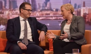 Eagle on The Andrew Marr Show with Owen Smith, for whom she stood aside in the Labour leadership challenge.