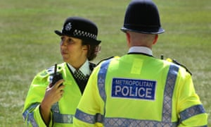 Police Officers on duty in the Westminster area.