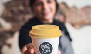 Change Please is rolling out coffee carts in London, with plans to introduce them in Bristol, Manchester, Nottingham, Glasgow and Edinburgh.