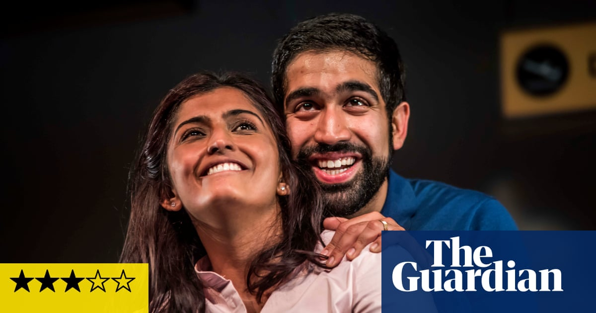 Love N Stuff review – a marriage in meltdown at Heathrow