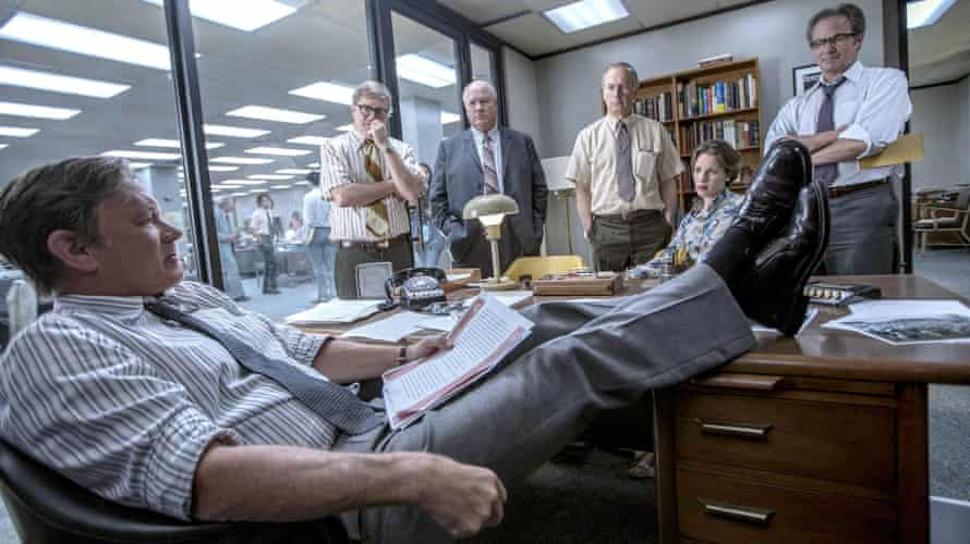 Steven Spielberg's The Post.