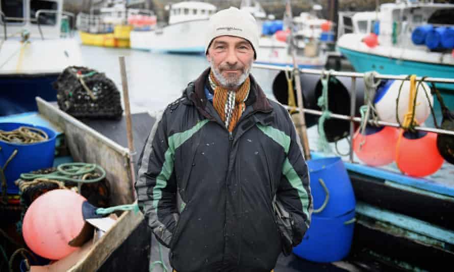 Steph Noel in St Helier harbour, Jersey.
