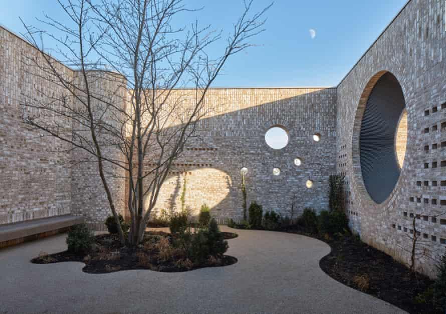 Hymn to the humble brick … Storey's Field Community Centre and Nursery, designed by MUMA.