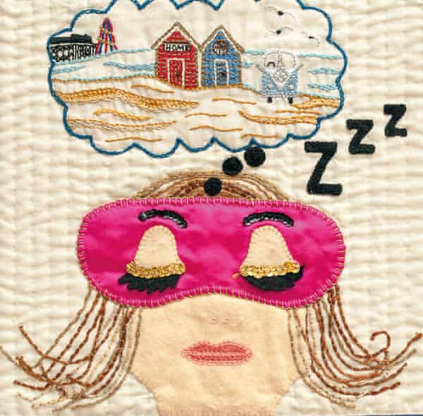 Dreaming, from Tracy Chevalier's book The Sleep Quilt